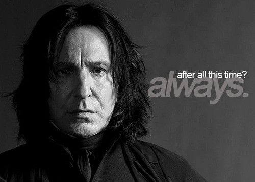 Alan rickman is an asshole